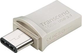 Transcend JetFlash 890 32GB, USB-C 3.0/USB-A 3.0 (TS32GJF890S)