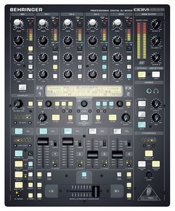 Behringer DDM4000 DJ Mixer black -- © Copyright 200x, Behringer International GmbH