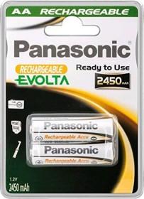 Panasonic Rechargeable Pro+ P6P NiMH 2100mAh, 2er-Pack (PABP6P)