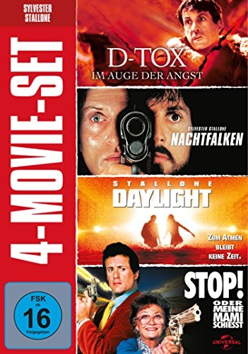 Stallone Action Box (D-Tox/Nachtfalken/Daylight) -- via Amazon Partnerprogramm