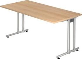 Hammerbacher Ergonomic N-Serie NS16/E, Eiche, Schreibtisch