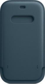 Apple Lederhülle mit MagSafe für iPhone 12/12 Pro baltischblau (MHYD3ZM/A)