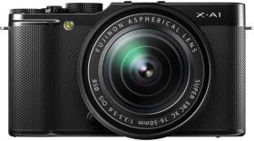 Fujifilm X-A1 schwarz mit Objektiv XC 16-50mm und XC 50-230mm