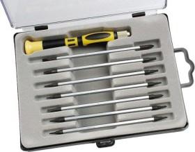 Mannesmann M11735 bit holder-screwdriver set, 8-piece.