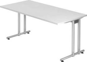 Hammerbacher Ergonomic N-Serie NS16/W, weiß, Schreibtisch