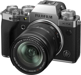 Fujifilm X-T4 silver with lens XF 18-55mm 2.8-4.0 R LM OIS (16650883)