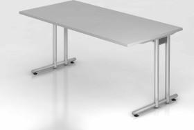 Hammerbacher Ergonomic N-Serie NS16/5, grau, Schreibtisch