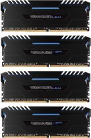 Corsair Vengeance LED blau DIMM Kit 32GB, DDR4-3000, CL15-17-17-35 (CMU32GX4M4C3000C15B)