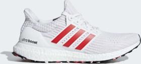 adidas Ultra Boost ftwr white/active red/chalk white (men) (DB3199)
