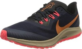 Nike Air Zoom Pegasus 36 Trail obsidian/black/laser crimson/magma orange (Herren) (AR5677-403)