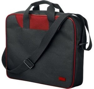 "Trust notebook Carry Bag Light 16"" carrying case black/red (16703)"