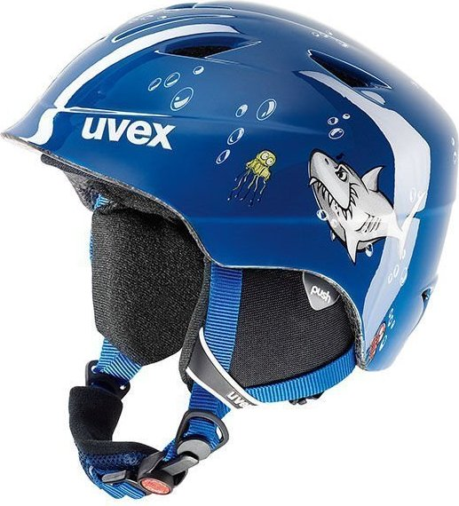 UVEX Airwing 2 Helmet blue shark (Junior) -- via Amazon Partnerprogramm