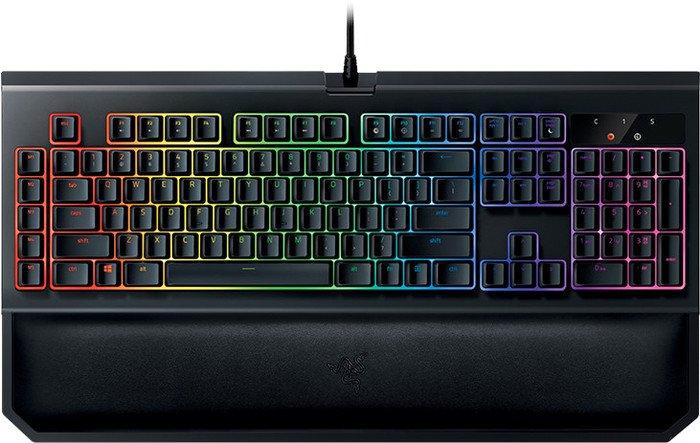 Razer BlackWidow Chroma V2, Razer YELLOW, USB, US (RZ03-02032300-R3M1)