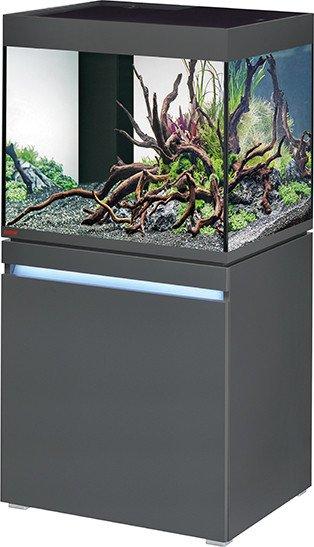 EHEIM incpiria 230 Aquarium-Set mit Unterschrank, graphit, 230l (0692119)