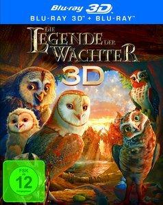 Die Legende der Wächter (3D) (Blu-ray)
