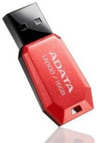 ADATA DashDrive UV100 rot 16GB, USB-A 2.0 (AUV100-16G-RRD)