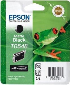 Epson T0548 Tinte schwarz matt (C13T54840)