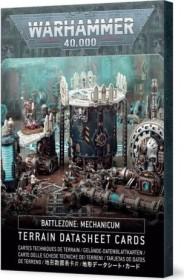 Games Workshop Warhammer 40.000 - Battlezone: Mechanicum - Gelände-Datenblattkarten (60050199043)