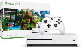 Microsoft Xbox One S - 1TB Minecraft Bundle weiß (234-00514)