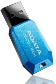 ADATA DashDrive UV100 blau 16GB, USB-A 2.0 (AUV100-16G-RBL)