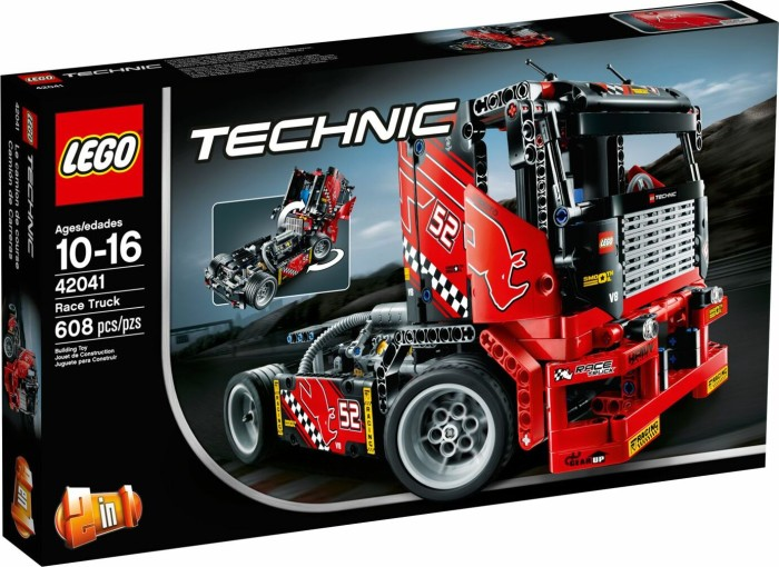lego technic lastwagen renn truck 42041 ab 129 90. Black Bedroom Furniture Sets. Home Design Ideas