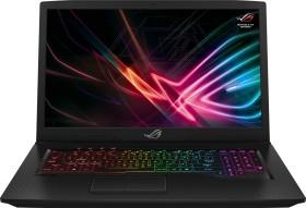 ASUS ROG Strix Scar GL703GM schwarz, Core i7-8750H, 16GB RAM, 256GB SSD, 1TB HDD, GeForce GTX 1060, DE (90NR00G1-M00610)