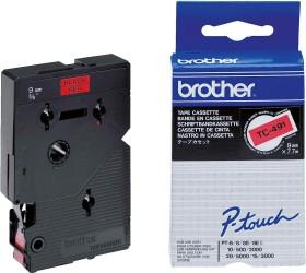 Brother TC-491 9mm, black/red (TC491)