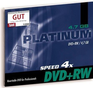 BestMedia Platinum DVD+RW 4.7GB 4x, 25-pack Jewelcase (100162)