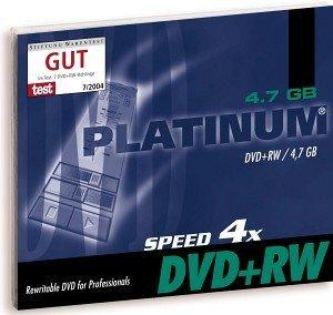 BestMedia Platinum DVD+RW 4.7GB 4x, Jewelcase 25 sztuk (100162)