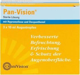 Pan-Vision Augentropfen, 30ml (3x 10ml)