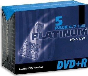 BestMedia Platinum DVD+R 4.7GB 8x, 5er Jewelcase