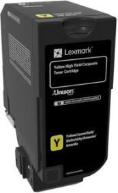 Lexmark Toner CS720 gelb (74C0S40)