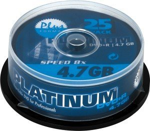 BestMedia Platinum DVD+R 4.7GB 8x, 25-pack Spindle (100016)