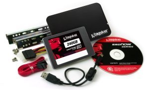 "Kingston SSDNow KC100 Bundle 240GB, 2.5"", SATA 6Gb/s (SKC100S3B/240G)"