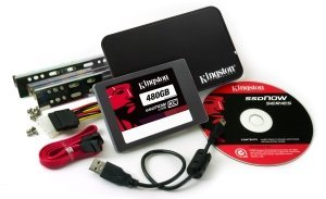 Kingston SSDNow KC100 - Bundle kit - 480GB, SATA (SKC100S3B/480G)
