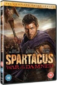 Spartacus - War of the Damned Season 3 (DVD) (UK)