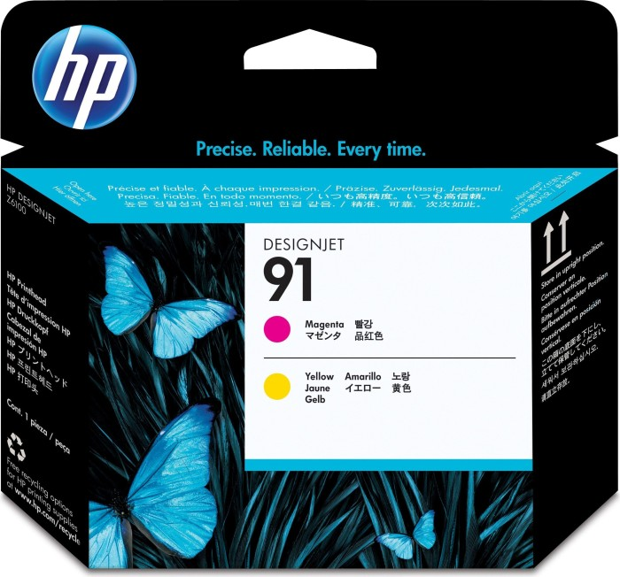 HP Printhead Nr 91 magenta/yellow (C9461A)