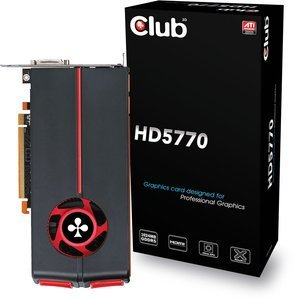 Club 3D Radeon HD 5770, 1GB GDDR5, 2x DVI, HDMI, DisplayPort (CGAX-57724IDP)