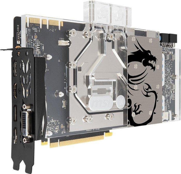 MSI GeForce GTX 1080 Sea Hawk EK X, 8GB GDDR5X, DVI, HDMI, 3x DP (V336-005)