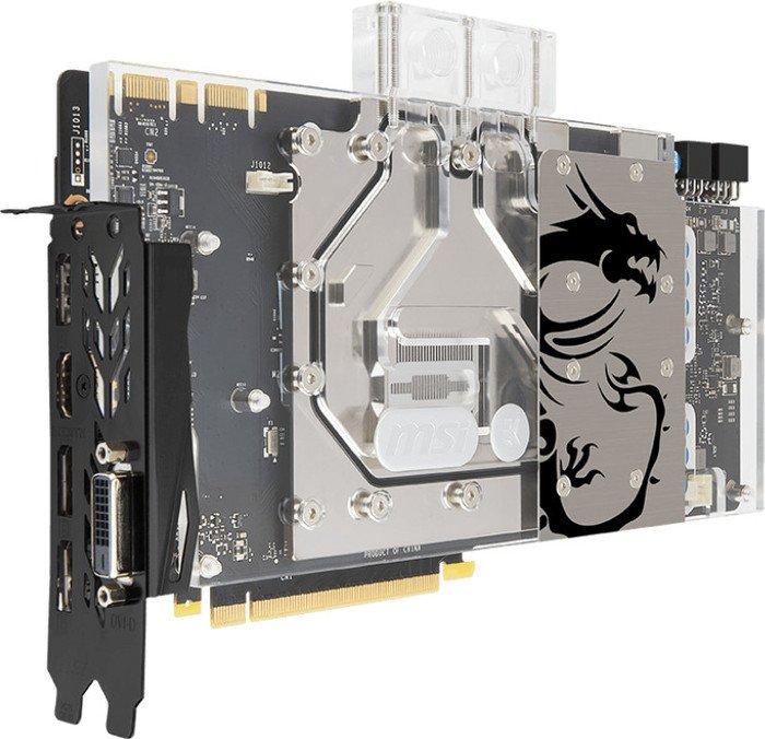MSI GeForce GTX 1070 Sea Hawk EK X, 8GB GDDR5, DVI, HDMI, 3x