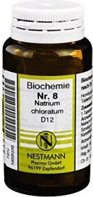 Nestmann Biochemie 8 Natrium chloratum D12 Tabletten, 100 Stück