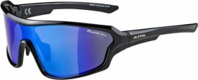 Alpina Lyron Shield P black/polarisation mirror blue (A8627.5.35)