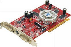 HIS Excalibur Radeon 9600 Dual DVI, 256MB DDR, 2x DVI, TV-out, AGP (R8K47D)