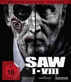 Saw I-VIII Definitiv Collection (Blu-ray)