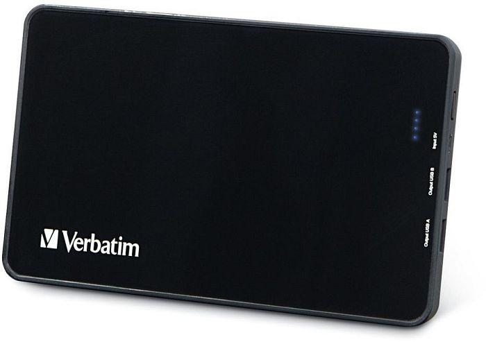 Verbatim Dual USB Portable Power Pack 10000mAh (97936)