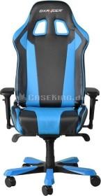 DXRacer King Series Gamingstuhl, schwarz/blau (OH/KF06/NB)