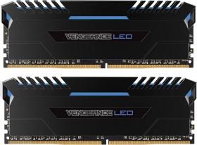 Corsair Vengeance LED blau DIMM Kit 32GB, DDR4-3000, CL15-17-17-35 (CMU32GX4M2C3000C15B)