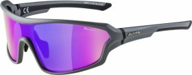 Alpina Lyron Shield P grey matt-black/polarisation mirror purple (A8627.5.25)