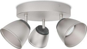 Philips myLiving Spot County chrome matte 3 flames (53353/17/16)