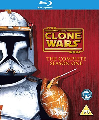 Star Wars: The Clone Wars Season  1 (Blu-ray) (UK) -- via Amazon Partnerprogramm